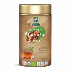 Buy Organic Wellness Real Masala Chai Tin - Nykaa