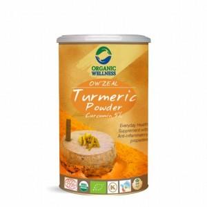 Buy Organic Wellness Zeal Turmeric Powder With 5% Curcumin - Nykaa