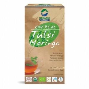 Buy Organic Wellness Real Tulsi Moringa Tea - Nykaa