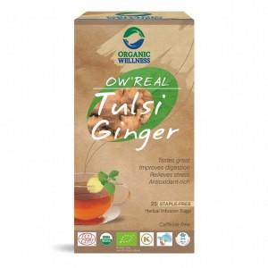 Buy Organic Wellness Real Tulsi Ginger Tea - Nykaa
