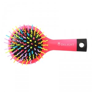 Buy Delight PLB 12 P Travel Styling Brush with Mirror - Nykaa