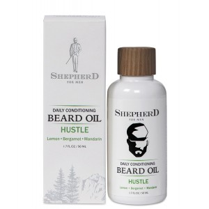 Buy Shepherd For Men Daily Conditioning Beard Oil - Hustle - Nykaa