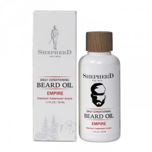 Buy Shepherd For Men Daily Conditioning Beard Oil - Empire - Nykaa