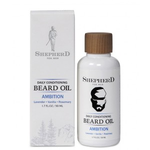 Buy Shepherd For Men Daily Conditioning Beard Oil - Ambition - Nykaa