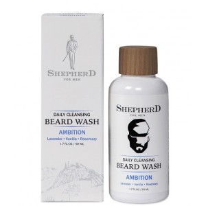 Buy Shepherd For Men Daily Cleansing Beard Wash - Ambition - Nykaa