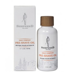 Buy Shepherd For Men Daily Comfort Pre-Shave Oil - Nykaa