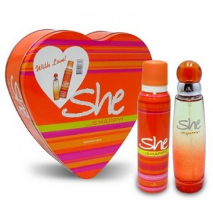 Buy Archies She is Happy Gift Set - Nykaa