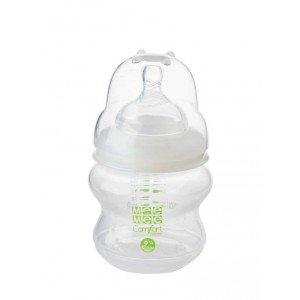 Buy Mee Mee Milk Safe Feeding Bottle Comfort Feeder  White - Nykaa