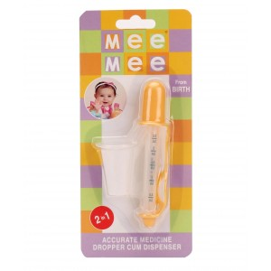 Buy Mee Mee Medicine Dropper And Beaker - Yellow - Nykaa