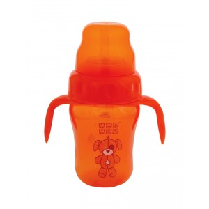 Buy Mee Mee 2 In 1 Spout/Straw Training cup - Orange - Nykaa
