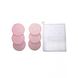 Buy Mee Mee Washable Cotton Maternity Breast Pads - Pink (6 pcs) - Nykaa