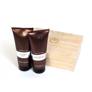 Buy The Man Company Essencia Men'S Grooming Kit Set Of 2 (Body Wash and Shampoo) - Nykaa