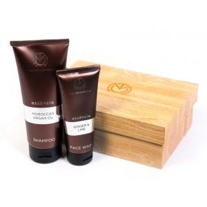 Buy Herbal The Man Company Essencia Men'S Grooming Kit Set Of 2 (Face Wash and Shampoo) - Nykaa