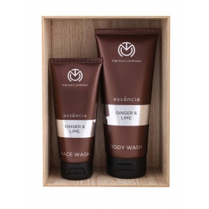 Buy The Man Company Ginger & Lime Face Wash & Body Wash - Set Of 2 - Nykaa