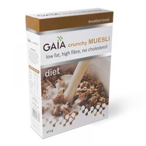 Buy Gaia Crunchy Muesli Diet - Nykaa