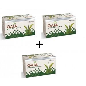Buy Gaia Green Tea Mint (Buy 2 Get 1 Free) - Nykaa