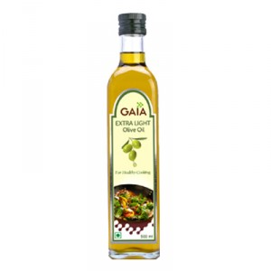 Buy Gaia Extra Light Olive Oil - Nykaa