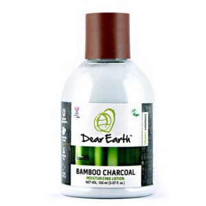 Buy Dear Earth Bamboo Charcoal Nourishing Organic Lotion, For Men -150ml - Nykaa