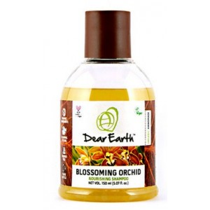 Buy Dear Earth Blossoming Orchid Nourishing Organic Shampoo, Dry Hair -150ml - Nykaa
