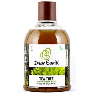 Buy Dear Earth Tea Tree Purifying Organic Body Wash -300ml - Nykaa