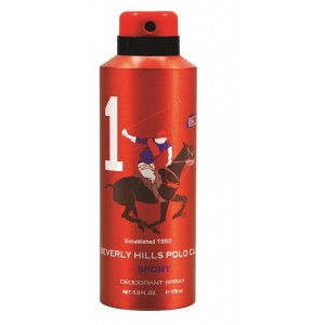 Buy Beverly Hills Polo Club Sport 1 Deodorant Spray - Nykaa