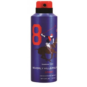 Buy Beverly Hills Polo Club Sport 8 Deodorant Spray - Nykaa