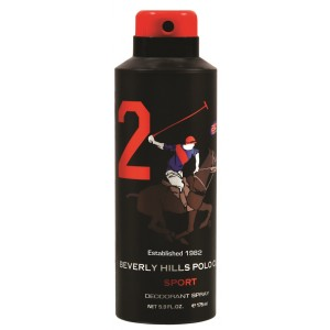 Buy Beverly Hills Polo Club Sport 2 Deodorant Spray - Nykaa