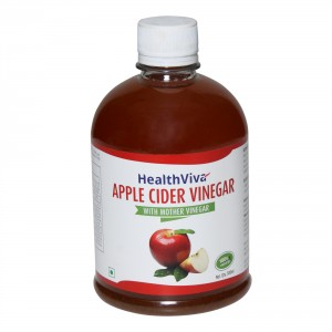Buy HealthViva Apple Cider Vinegar - Nykaa