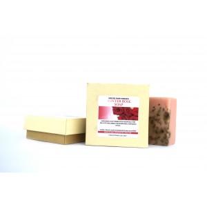Buy Abeers Khadi Pure Essense Luxury Winter Rose Soap - Nykaa