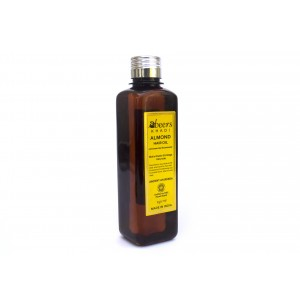 Buy Abeers Khadi Almond Hair Oil - Nykaa