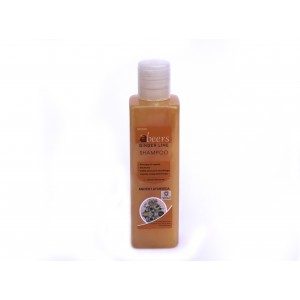 Buy Abeers Khadi Ginger Lime Shampoo For Dandruff - Nykaa