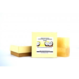 Buy Abeers Khadi Pure Essence Luxury Coconut Almond Soap - Nykaa