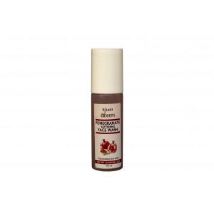 Buy Abeers Khadi Abeers Pomegranate Softening Face Wash - Nykaa