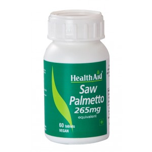 Buy HealthAid Saw Palmetto 265mg - Equivalent - Nykaa