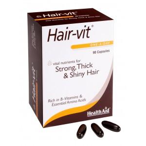 Buy Herbal HealthAid Hair-Vit - 90 Capsules - Nykaa