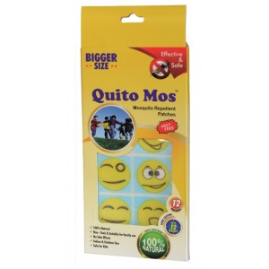 Buy Quito Mos Mosquito Repellent Character Box - 12 Patches - Nykaa