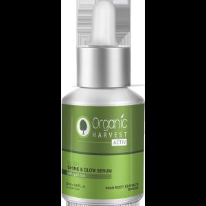 Buy Organic Harvest Blush Shine & Glow Serum - Nykaa