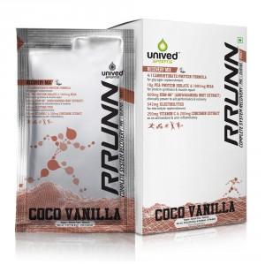 Buy Unived RRUNN Post Recovery Sports Drink Mix Coco Vanilla Flavour - Nykaa