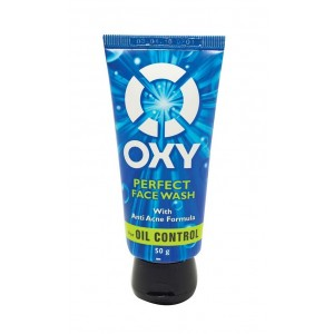 Buy Herbal OXY Perfect Face Wash With Anti Acne Formula - Nykaa