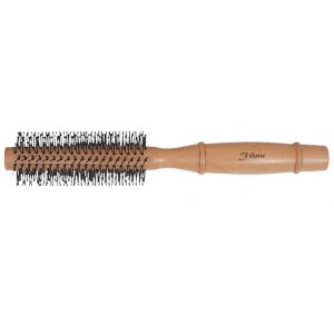 Buy Filone Wood Round Hair Brush - 9519W1 - Nykaa