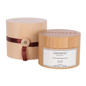 Buy OMORFEE Tea Tree Massage Creme - Nykaa