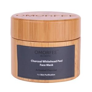 Buy OMORFEE Charcoal Whitehead Peel Face Mask - Nykaa