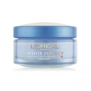 Buy Herbal L'Oreal Paris White Perfect Night Cream - Nykaa