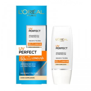 Buy L'Oreal Paris UV Perfect Even Complexion SPF 50+ - Nykaa