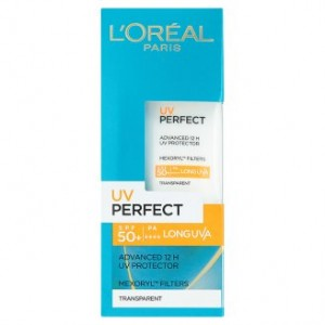 Buy L'Oreal Paris UV Perfect Transparent Skin - Non-Tinted - Nykaa