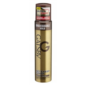 Buy Gatsby Set & Keep Hair Spray Ultra Hard - Nykaa