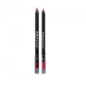 Buy Provoc Semi-Permanent Gel Lip Liner Filler - 23 Dangerous + 42 Tropical Paradise - Nykaa