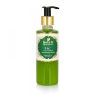 Buy Just Herbs 8 In 1 Root Nourishing Amla Neem Shampoo - Nykaa