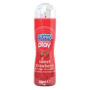 Buy Durex Play Sweet Strawberry - Nykaa