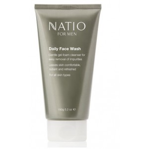 Buy Natio For Men Daily Face Wash - Nykaa